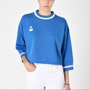 NWT Isabel Marant cropped sweatshirt